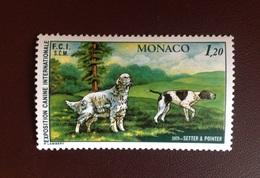 Monaco 1979 Dogs Dog Show MNH - Hunde