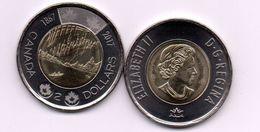 Canada - 2 Dollars 2017 UNC 150 Anniversary Of Confederation Lemberg-Zp - Canada