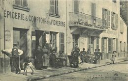 69 MONTESSUY  Arrêt Du Tramway  épicerie & Comptoir Des Vignerons  2scans - France