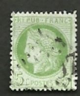 FRANCE =  TIMBRE POSTE N° 53 - 1876-1878 Sage (Type I)