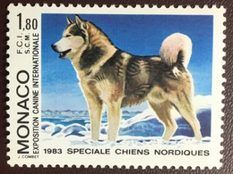 Monaco 1983 Dogs Dog Show MNH - Perros