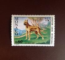 Monaco 1972 Dogs Dog Show MNH - Hunde