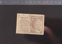 Petit Calendrier Bijou  - Petit Format - 1922 - Complet - Kalenders