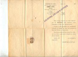 Lettre Cachet Geneve - Marcophilie
