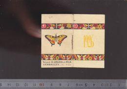 Calendrier - Petit Format - 1926 - Teinture Kabiline - Legris Versailles - Décor Art Déco - Calendarios