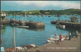 Customs House Quay, Falmouth, Cornwall, C.1960s - Salmon Postcard - Falmouth
