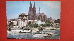 KÖLN AM RHEIN. Rheinufer Mit Dom - Köln