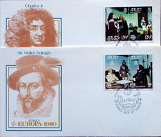 Jersey 1980     EUROPA  MiNr.219-22  FDC  ( Lot   6365  ) - Jersey
