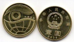 China - 1 Yuan 2009UNC Comm. Nature Conservation Lemberg-Zp - Chine