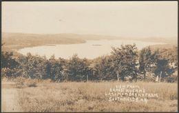 View From Lake Mombasha Farm, Southfields, New York, 1930 - AZO RPPC - NY - New York