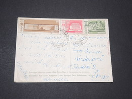 MONGOLIE - Carte Postale Pour Brno En 1961- L 14405 - Mongolia