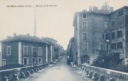 Isére : SAINT-MARCELLIN : Montée De St.-sauveur - Saint-Marcellin