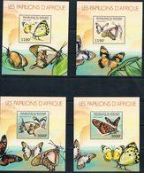 Bloc Sheet Papillons Butterflies Neuf MNH ** Burundi 2012 - Papillons
