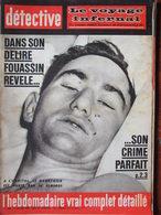 Détective N°866 (1er Fév 1963) Fouassin - Noyades Canal De Mussey - Naturiste Jenny Mann - Aff Grimm - Altri