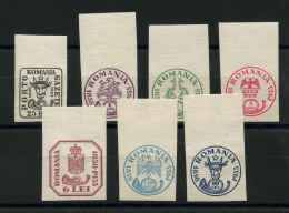Roumanie (1932) N 453 A 459 (charniere) - 1918-1948 Ferdinand I., Charles II & Michel