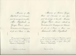 Angers - Chatellerault  ( Aout  1897 )  - F.P.mariage De ALICE Papillault Et Georges Vinet  - Malc90 - Mariage