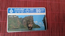 Phonecard Thailand 312 E Used - Thaïland