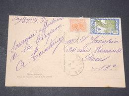 GUYANE - Oblitération De Cayenne Sur Carte Postale ( Hotel Du Gouverneur ) En 1933 Pour Paris - L 14407 - Guyane Française (1886-1949)