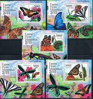 Bloc Sheet Papillons Butterflies Neuf MNH ** Burundi 2011 - Papillons