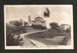 PEZZOLO VALLE UZZONE ( CN ) - Santuario Del TODOCCO ( Affrancatura Asportata  - Spedita 195 ? ) - Cuneo