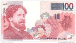 BELGIUM 100 FRANCS ND (1995) P-147a AU/UNC SIGN: BERTHOLOMÉ & VERPLAETSE [BE147] - 100 Francs