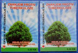 BOSNIA AND HERZEGOVINA BIH FEDERATION HB MOSTAR RED CROSS TBC TUBERCULOSIS 2013 CHARITY STAMPS - MNH - Bosnia Erzegovina
