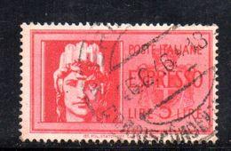 XP3745 - LUOGOTENENZA 1945 , 5 Lire Espresso N. 24  Usato - Ohne Zuordnung