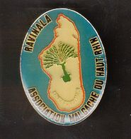 PIN'S MADAGASCAR - RAVINALA - ASSOCIATION MALGACHE DU HAUT RHIN - Badges