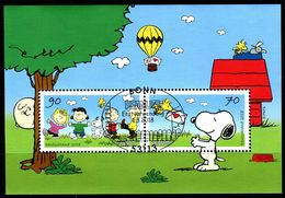 BRD - Michel Block 82 = 3369 / 3370 - OO Gestempelt 53113 BONN Am 01.03.2018 - 70-90C   Peanuts, Snoopy - Gebraucht