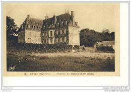 53 ERNEE CHATEAU DE PANARD CPA BON ETAT - Ernee