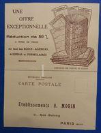 Etablissements H. Morin - Avec CPA - Agenda - 1925 - Zonder Classificatie