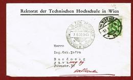 Brief Wenen - Bandoeng Met Stempel Volkstelling Is Een Algemeen Belang  7/6/1930 - Indes Néerlandaises