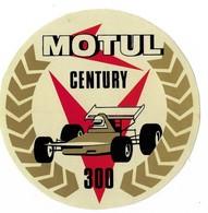Autocollant - Automobiles - Huile - MOTUL - Century 300 - Diamètre : 11 Cm - - Autocollants