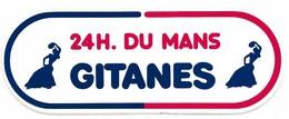 Autocollant - Tabac - Courses Automobiles - 24 H Du Mans 1973 - GITANES - 18 X 6,5 Cm - (11) - - Stickers