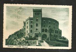 PALERMO - Castello Utveggio ( Spedita 1940 ) - Palermo