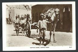 +++ CPA - Asie - YEMEN - Native Camel Carts - ADEN   // - Yemen