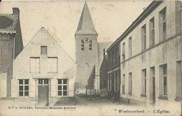 Westmeerbeek.  -  L'Eglise  -   Zeldzame Kaart! - Hulshout