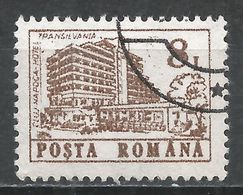 Romania 1991. Scott #3669 (U) Transylvania Hotel, Cluj-Napoca * - 1948-.... Républiques