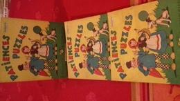 PATIENCES PUZZLES N°4 à Colorier ,à Compléter.imprimeurs éditeurs Croix LILLE. NISSE (FinR2) - Franche-Comté