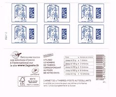 Carnet Datamatrix Bleu Europe Avec Mappemonde - RGR-2 - Libretti