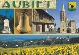 32 AUBIET /MULTIVUES / BLASON - France