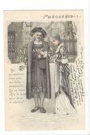 19474 - Margarete 1 Ne Permettrez-vous Pas Demoiselle Qu'on Vous Offre Le Bras...carte En Relief - Couples
