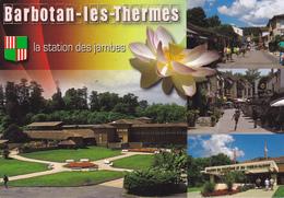 32 BARBOTAN LES THERMES / MULTIVUES / BLASON /  STATION DES JAMBES - Barbotan