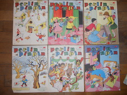 PERLIN Et  PINPIN Lot De 59 Magasines 8 Pages  Des Années 1960 1961 1962 1963 - Boeken, Tijdschriften, Stripverhalen