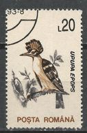Romania 1993. Scott #3815 (U) Upupa Epops, Bird * - 1948-.... Républiques