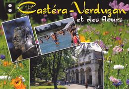 32 CASTERA VERDUZAN / MULTIVUES / BUSTE DE ODILON LANNELONGUE - Castera