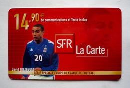 SFR LA CARTE - DAVID TREZEGUET - Série Spéciale équipe De FRANCE De Football - Sport