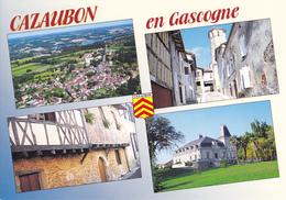 32 CAZAUBON / MULTIVUES / BLASON - France