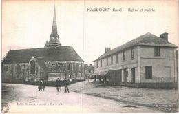 HARCOURT ... EGLISE ET MAIRIE - Féroé (Iles)