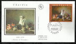 JEAN- BATISTE- SIMEON CHARDIN  . 27 SEPTEMBRE 1997 . PARIS . - 1990-1999